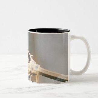 Lacrosse Stick Two-Tone Coffee Mug