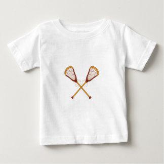 Lacrosse Sticks Baby T-Shirt