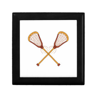 Lacrosse Sticks Jewelry Box