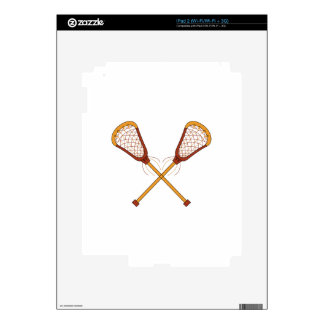Lacrosse Sticks Skins For The iPad 2