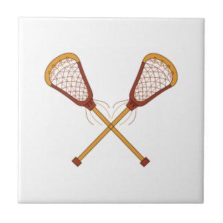 Lacrosse Sticks Tile