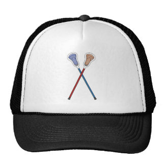 Lacrosse Sticks Trucker Hat