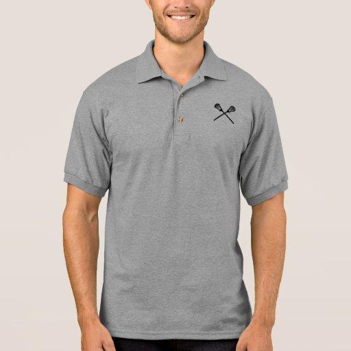 Lacrosse Sticks Polo Shirts