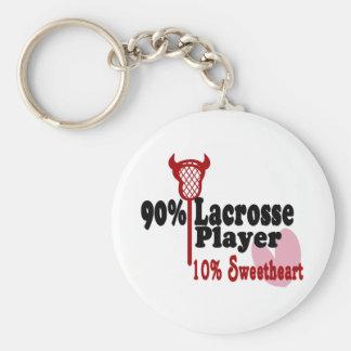 Lacrosse Sweetheart Keychain