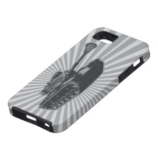 Lacrosse Tank - gray iPhone SE/5/5s Case