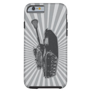 Lacrosse Tank - gray Tough iPhone 6 Case