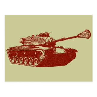 Lacrosse Tank Postcard