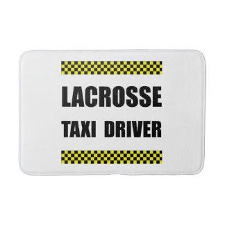 Lacrosse Taxi Driver Bathroom Mat
