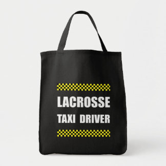 Lacrosse Taxi Driver Tote Bag