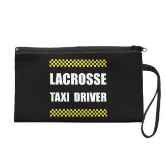 Lacrosse Taxi Driver Wristlet Purse