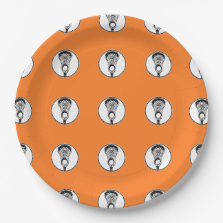 Lacrosse Team Paper Plate