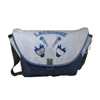 Lacrosse Tees and Gifts for Kids and Adults Courier Bag