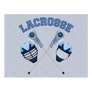 Lacrosse Tees and Gifts for Kids and Adults Post Card