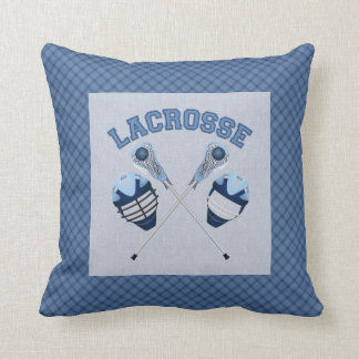 Lacrosse Tees and Gifts for Kids and Adults Throw Pillow