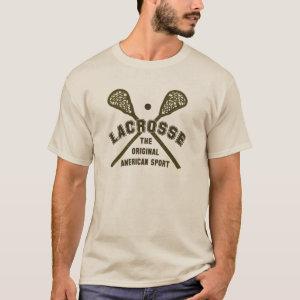Lacrosse the Original American Sport T-Shirt