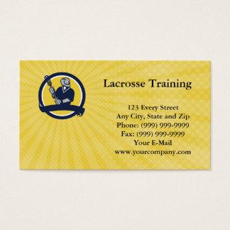 Lacrosse Training Business card