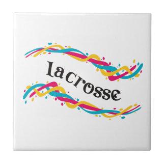 Lacrosse Twists Ceramic Tile