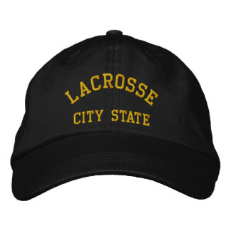 Lacrosse Type In Your City State Embroidered Cap