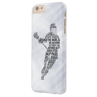 Lacrosse Typography Design Phone Cover
