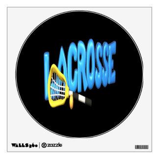 Lacrosse Wall Sticker