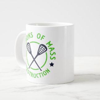 Lacrosse Weapons of Destruction Large Coffee Mug