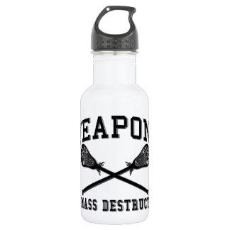 Lacrosse Weapons Stainless Steel Water Bottle