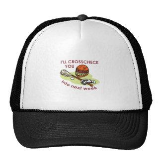 LACROSSEE CROSSCHECK TRUCKER HAT