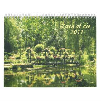 Lacs et cie calendars