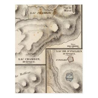 Lacs volcaniques postcard