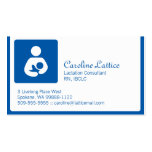 Lactation Consultant Double-Sided Standard Business Cards (Pack Of 100)