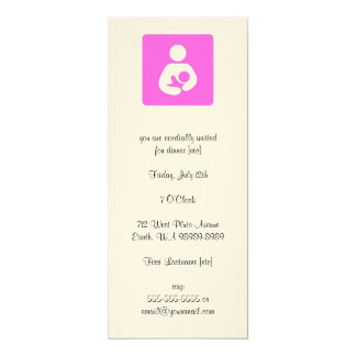Lactation Consultant 4x9.25 Paper Invitation Card