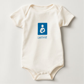 Lactivist Boy Baby Bodysuit