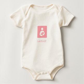 Lactivist Girl Baby Bodysuit