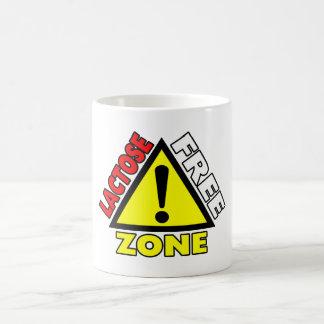 Lactose Free Zone (Dairy Free) Classic White Coffee Mug