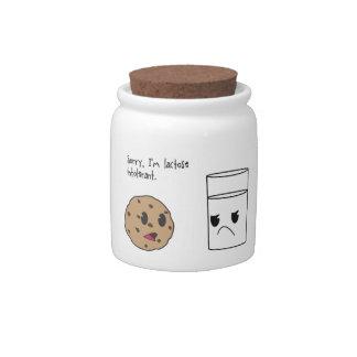 Lactose Intolerance Candy Jar