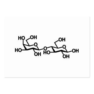 Lactose Milk Structure Business Card Template