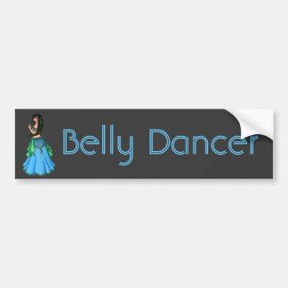 Lacy Belly Dancer Bumper Sticker