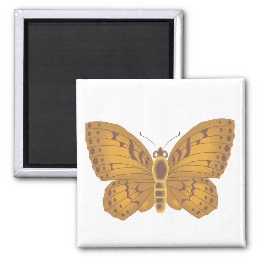 Lacy Butterfly Refrigerator Magnets