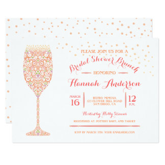 bridal brunch invitations amazing invitation template ideas by