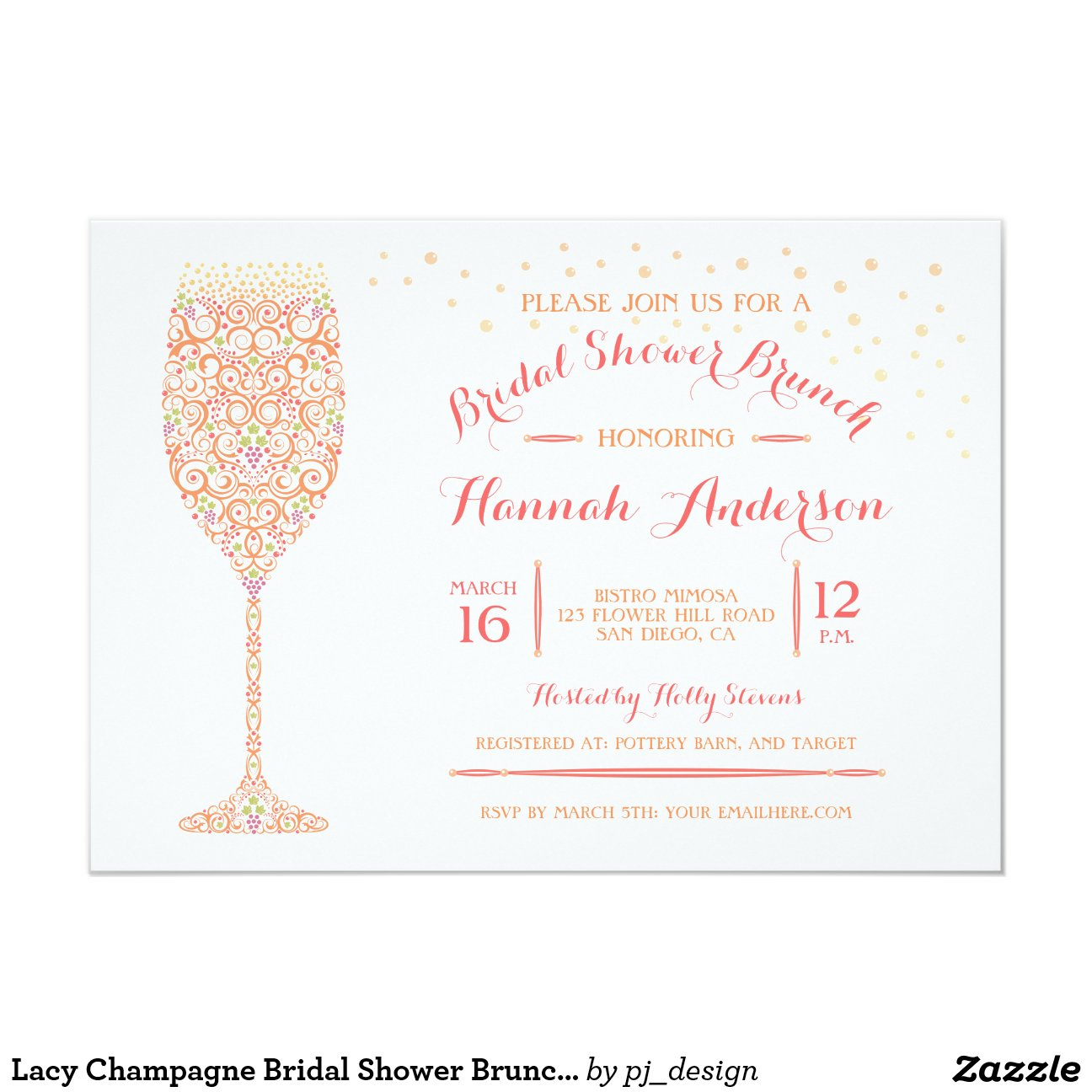 Wording For Bridal Shower Invitation as amazing invitation ideas