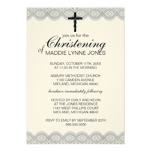 Baby Dedication Invitations is great invitation design