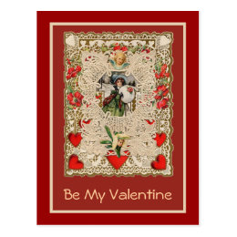 Lacy Design Victorian Valentine Greeting Cards