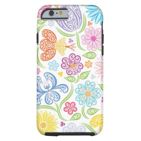 Lacy Floral Pattern iPhone 6 case
