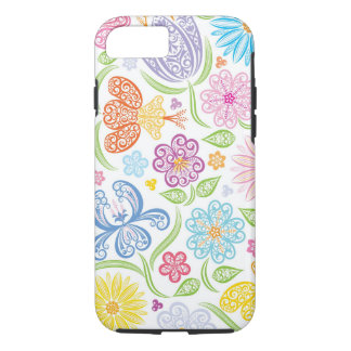 Lacy Floral Pattern iPhone 7 case