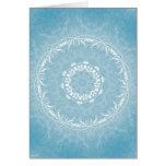 Lacy Flowers Mandala Card