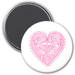 Lacy Heart magnet