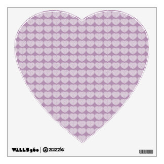 Lacy Hearts Wall Decal