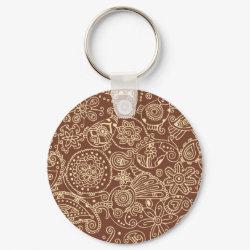 Lacy keychain