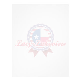 Lacy-Lakeview, TX Personalized Letterhead