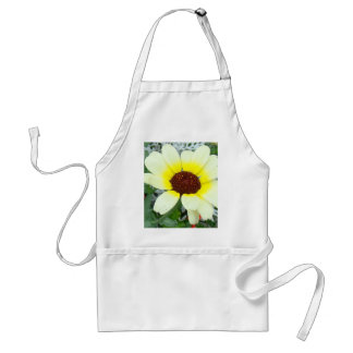 Lacy leaves and flowers adult apron